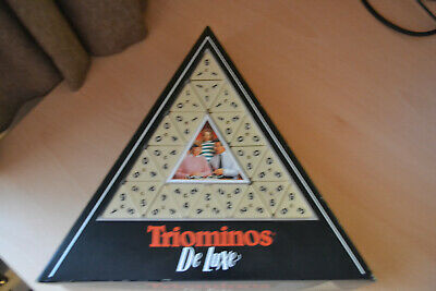 Triominos Deluxe Board Game Family Fun - Variation Of Dominoes • 1£
