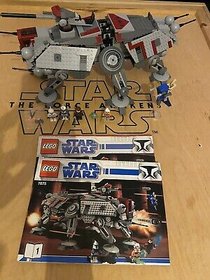 Lego Star Wars AT-TE 7675 Complete • 180£