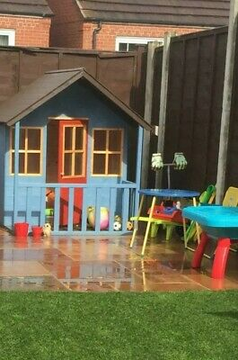 Wooden Playhouse • 54£