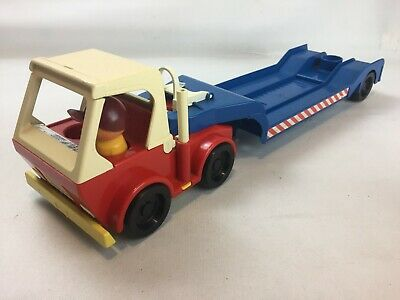 Vintage Truck With Trailer Toy, Jean West Germany, 8510 Furth, Very Rare • 27.95£