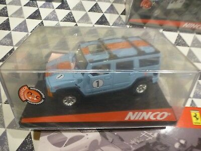 Ninco *NEW* 1/32 50489 Hummer H2 Gulf  For Collectors • 50£