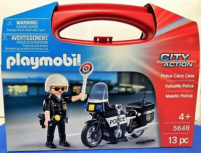 BRAND NEW Playmobil 5648 Police Carry Case  • 7.50£