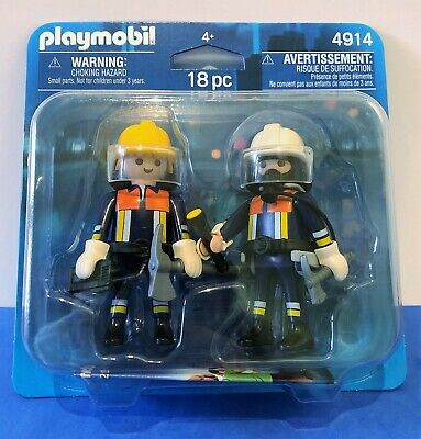 BRAND NEW Playmobil 4914 City Action Fire Rescue Squad Duo Pack • 5.99£