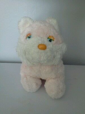 Pink & White Cuddly Cat • 1£