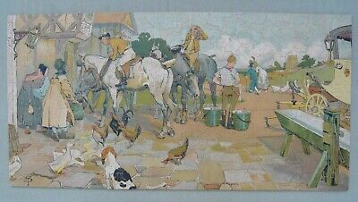 Vintage Wooden Anglo-American Jigsaw Puzzle - 626 Pieces • 10.50£