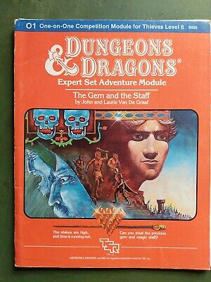 Dungeons & Dragons Adventure Module O1 The Gem And The Staff One-on-one Competit • 2.20£