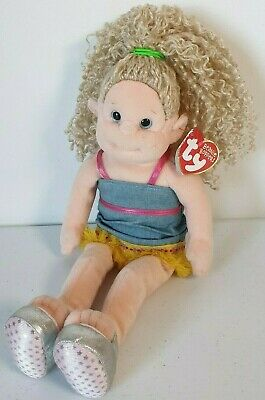 Ty Beanie Boppers  Sassy Star  2001 12  Plush Doll Soft Toy With Tags Free P&p • 7.95£