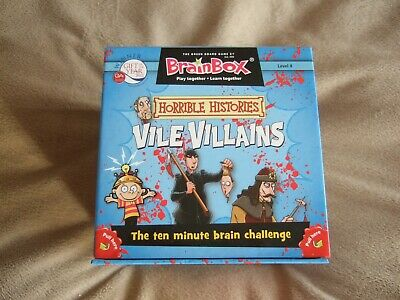 Brainbox Horrible Histories Vile Villains • 4.50£