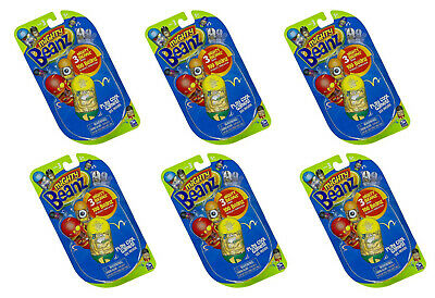 6 Packs Of 3  Mighty Beanz  Beanz Pack Series 3 (18 Beanz In Total) • 14.99£