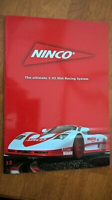 Scalextric Ninco (13) 2005 Slot Car Catalogue Mint Unused Ex Shop Stock  • 2.50£