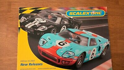 Scalextric 43rd Catalogue 2002 New Releases Very Good Clean Condition  • 3.50£