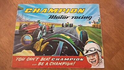 Scalextric Original 1960's Champion Slot Racing Catalogue V/Good Condition RARE • 5£