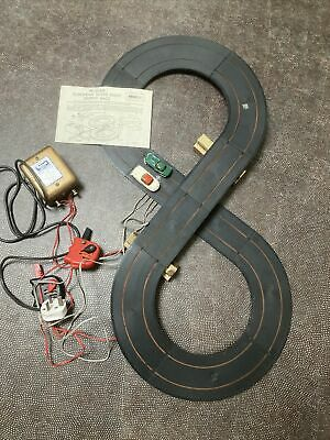 Rare Vintage Jag E-type Gullwing Mercedes Tri-ang Minic Race European 8 Track  • 29.95£