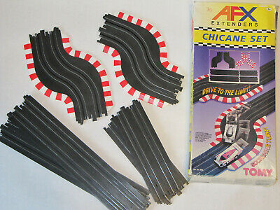 Boxed Vintage Tomy Aurora AFX Extenders Chicane Set • 20£