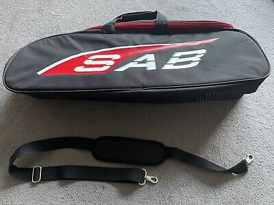 SAB Goblin 380 Helicopter Carry Case Bag HM056 Red Comet Havoc Align Trex Gaui • 69.50£
