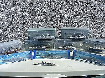 Collection Of Atlas And Hornby Minic Warships Boxed • 145£