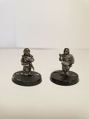 Frodo And Sam In Orc Armour Lord Of The Rings Games Workshop Metal  • 4.85£