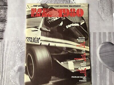 1980 Slotcaracing Magazine Pre-owned • 3.85£