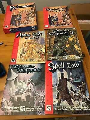 5 X Law Role Play Games Job Lot - #1100 #1200 #1300 Spell Rolemaster  • 55£