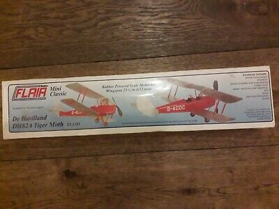De Havilland DH82A Tiger Moth Balsa Kit • 30£