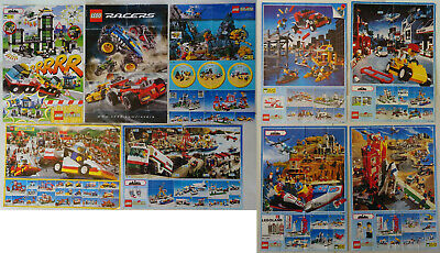 Lego Sales Leaflets Mini Posters X9 Town • 2.99£