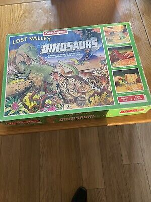 Lost Valley Of The Dinosaurs Board Game • 15£