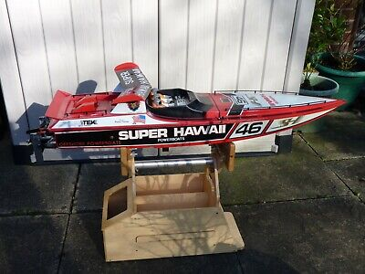 RC Electric Powered Offshore Racing Boat Super Hawaii Kit No-55002 • 299.99£