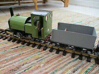 Live Steam 'G' Gauge MSS Saddle Tank Locomotive And Logging Train • 285£