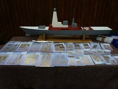 RC Boat Royal Navy Type 45 Destroyer Semi-Scale 1:96 Model + Extras • 599.99£