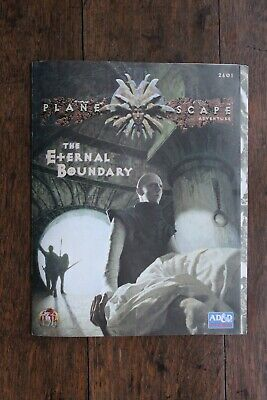 The Eternal Boundary Planescape AD&D 2nd Edition Adventure Module TSR 2601 1994 • 46.99£