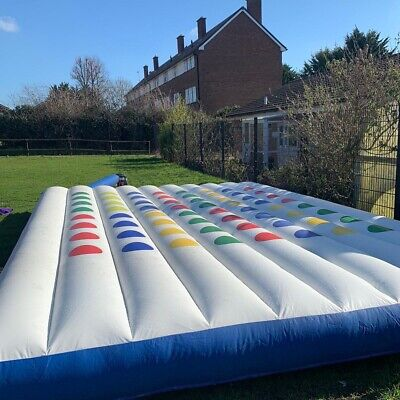Bouncy 'Twister Game' Castle - Used • 375£