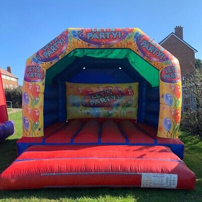 Bouncy 'Lets Party' Castle - Used • 475£