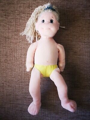 Ty Beanie Boppers - Adorable Annie - Pretty Blond Hair Doll Great Condition • 1.99£
