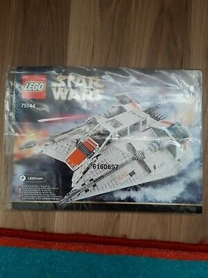 Lego Star Wars 75144 Snowspeeder - UCS (2nd Edition) - INSTRUCTIONS MANUAL ONLY • 19.99£