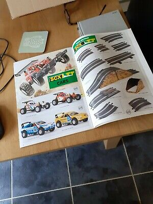 Exin Scalextric SCX 1991 Catalogue Which Shows SCX TT Vehicles, Sets And Spares • 17.99£