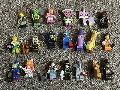 LEGO - The Lego Movie 2 Minifigures Complete Set Of 20 • 25£
