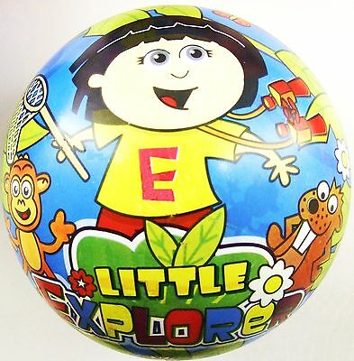 Little Explorer Doll PVC Plastic Football Play Beach Ball Kid Party Pool Girl BN • 2.20£