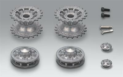 Taigen Sprocket And Idler Wheels For 1:16 Scale Heng Long Tiger 1 Tank Early • 22.50£