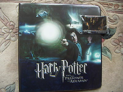 Harry Potter And The Prisoner Of Azkaban Folder/ Binder And 2 Promo Cards • 8.99£