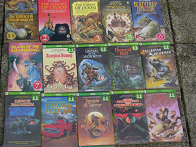Fighting Fantasy Roleplay Books Multi-listing • 16£