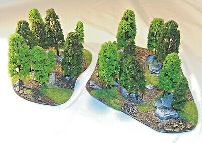 15mm To 28mm Scale Scenic Area Terrain. Trees And Forests. Ww2 Sci-fi Historic • 19.99£