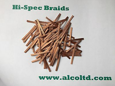 Hi-Spec 40mm Braids/Brushes (Pack Of 100)- SCALEXTRIC SPARES  Alco Manufacturing • 8.99£
