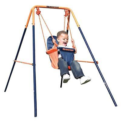 Hedstrom Folding Toddler Play Swing Boys & Girls 6 Months Robust Steel Frame • 59.99£