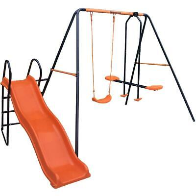 Hedstrom Saturn Kids Childs Swing Multiplay Garden PlaySet Swing Glider Slide • 142.99£