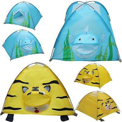 New Kids Children Animal Camping Dome Play Tent Playhouse Indoor Outdoor • 16.74£
