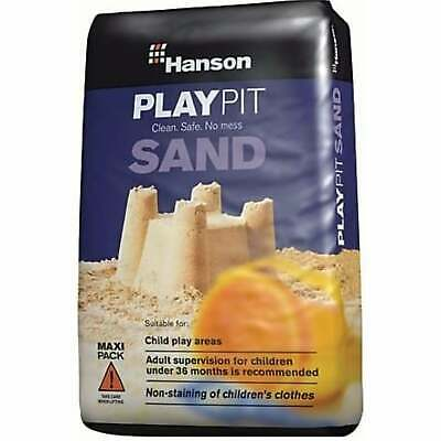 Hanson Children Toy Play Pit Sand Silica Non Clothes Staining 25kg Clean Safe • 12.95£