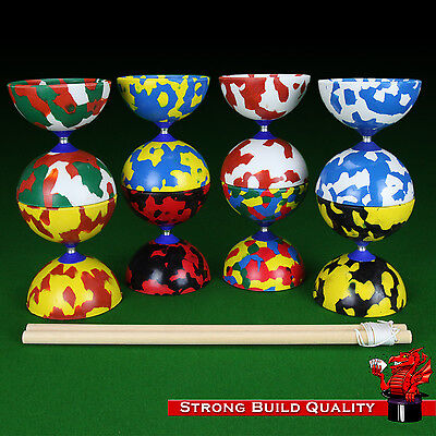 Juggle Dream Jester Diabolo (diablo) With Wooden Sticks And Instructions  • 13.94£