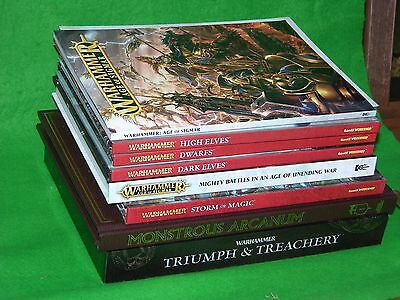 Warhammer Fantasy Battle Books And Game Supplements Multi-listing • 38£