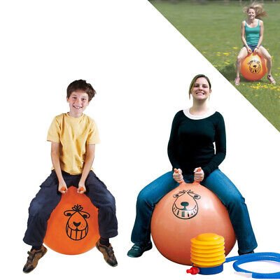 Large Exercise Retro Space Hopper Play Ball Toy Kids Adult Game 60cm / 80cm  • 8.56£