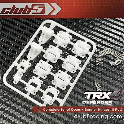 Complete Set Of Doors / Bonnet Hinges (11 Pcs) For TRX-4 Defender Body • 8.58£
